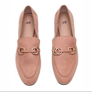 H&M Dusty Pink Loafers